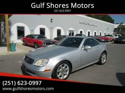 2002 Mercedes-Benz SLK for sale at Gulf Shores Motors in Gulf Shores AL