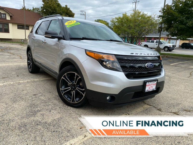 2013 Ford Explorer for sale at Magana Auto Sales Inc in Aurora IL