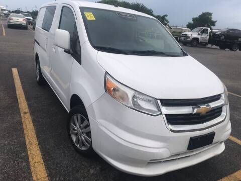 2015 Chevrolet City Express Cargo for sale at Texas Luxury Auto in Houston TX