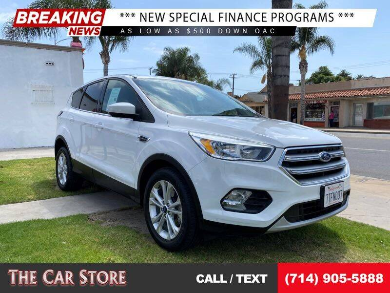 2017 Ford Escape for sale at The Car Store in Santa Ana CA