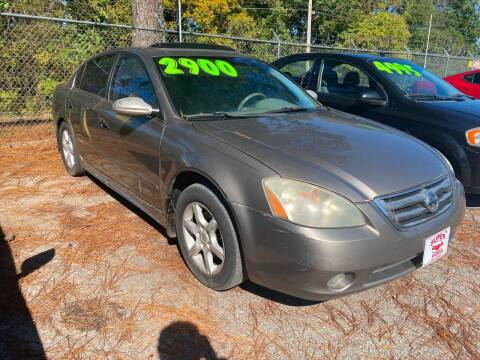 2003 Nissan Altima for sale at Super Wheels-N-Deals in Memphis TN
