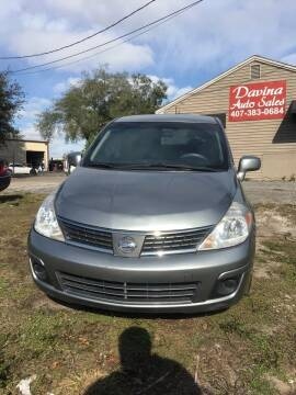 2009 Nissan Versa for sale at DAVINA AUTO SALES in Orlando FL