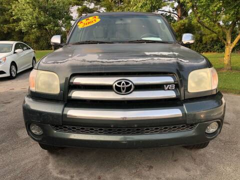 2005 Toyota Tundra for sale at Greenville Motor Company in Greenville NC