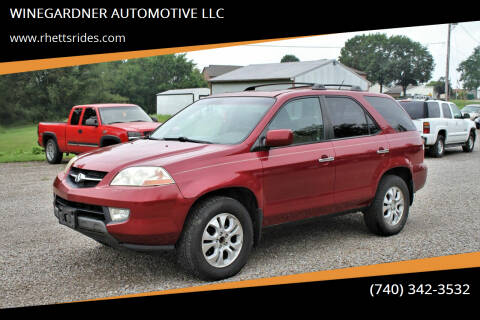 2003 Acura MDX for sale at WINEGARDNER AUTOMOTIVE LLC in New Lexington OH