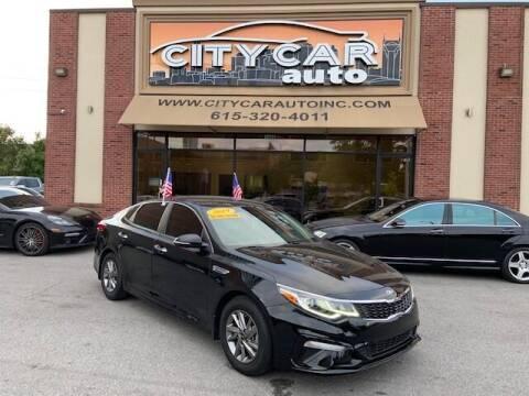 2019 Kia Optima for sale at CITY CAR AUTO INC in Nashville TN