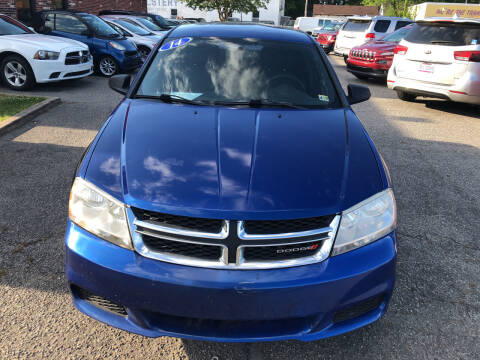 2014 Dodge Avenger for sale at HW Auto Wholesale in Norfolk VA