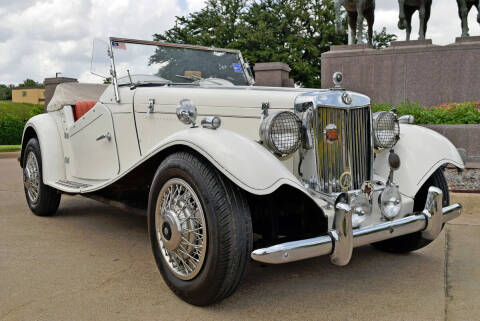 1952 MG TD for sale at European Motor Cars LTD in Fort Worth TX