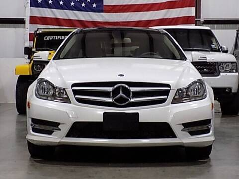 2013 Mercedes-Benz C-Class for sale at Texas Motor Sport in Houston TX