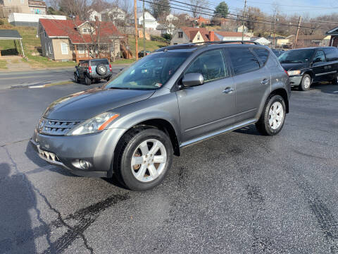 2007 Nissan Murano for sale at KP'S Cars in Staunton VA