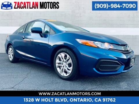 2015 Honda Civic for sale at Ontario Auto Square in Ontario CA