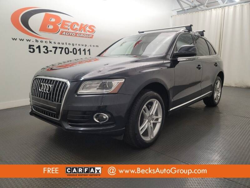 2014 Audi Q5 for sale at Becks Auto Group in Mason OH