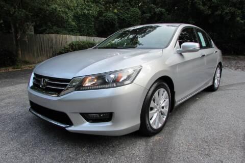 2014 Honda Accord for sale at AUTO FOCUS in Greensboro NC