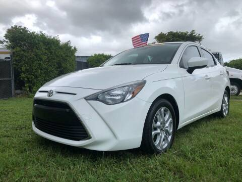 2017 Toyota Yaris iA for sale at Prestige Auto Trader in Miami FL