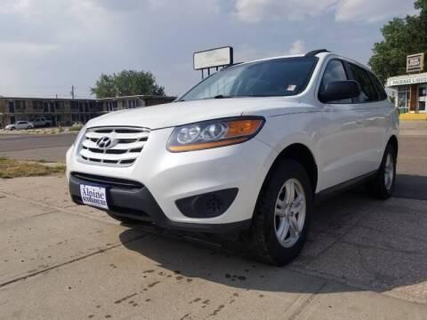 2010 Hyundai Santa Fe for sale at Alpine Motors LLC in Laramie WY