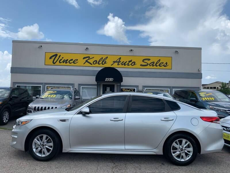 2018 Kia Optima for sale at Vince Kolb Auto Sales in Lake Ozark MO