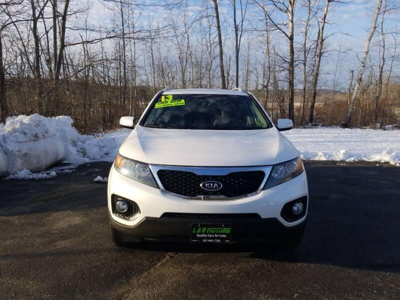 2013 Kia Sorento for sale at L & R Motors in Greene ME