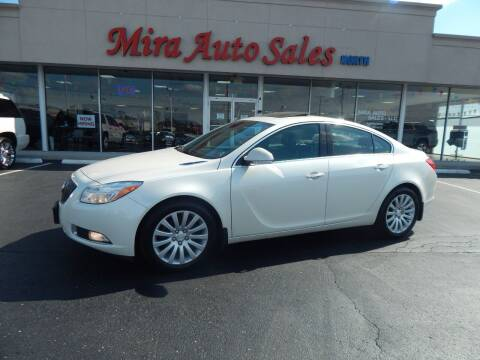 2013 Buick Regal for sale at Mira Auto Sales in Dayton OH