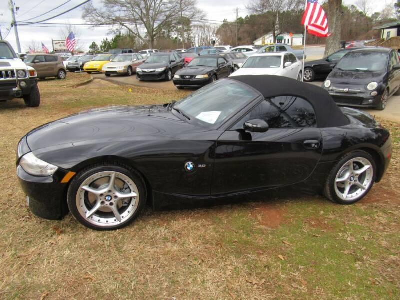 2007 BMW Z4 for sale at Dallas Auto Mart in Dallas GA