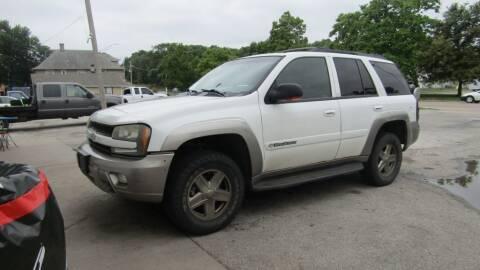 2003 Chevrolet TrailBlazer for sale at MTC AUTO SALES in Omaha NE