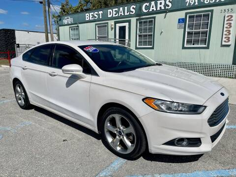2014 Ford Fusion for sale at Best Deals Cars Inc in Fort Myers FL