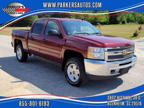 2013 Chevrolet Silverado 1500 for sale at Parker's Used Cars in Blenheim SC