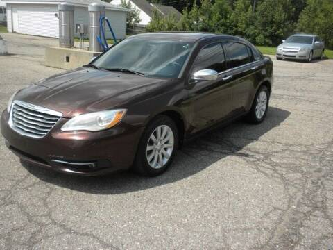 2013 Chrysler 200 for sale at MASTERS AUTO SALES in Roseville MI