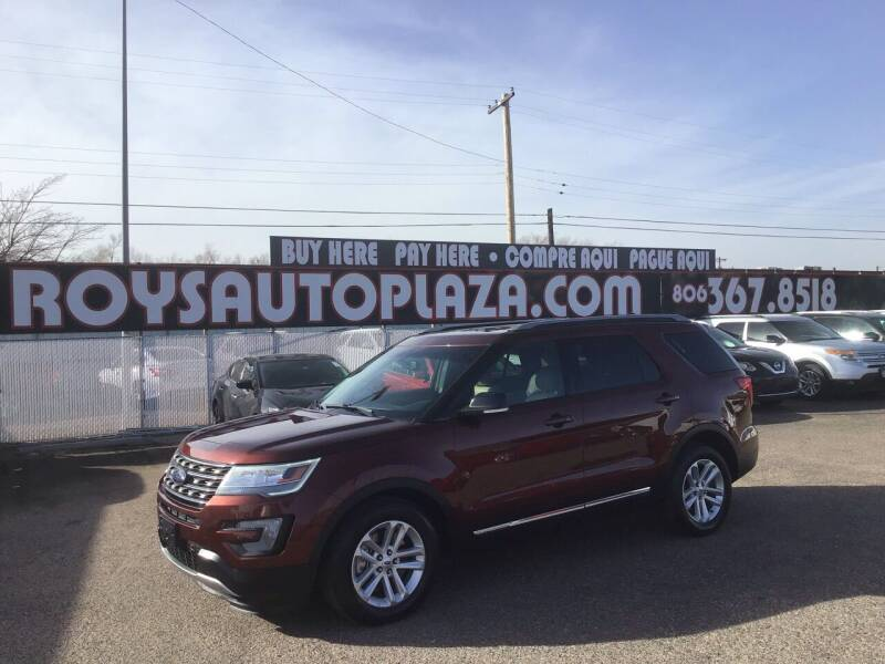 2016 Ford Explorer for sale at Roy's Auto Plaza 2 in Amarillo TX
