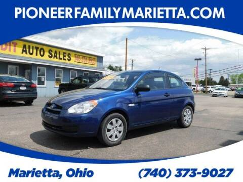 2011 Hyundai Accent for sale at Pioneer Family preowned autos in Williamstown WV