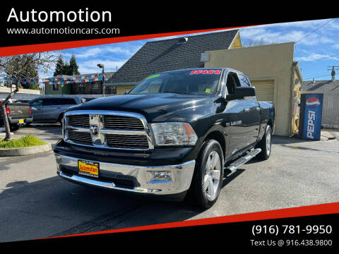 2012 RAM Ram Pickup 1500 for sale at Automotion in Roseville CA