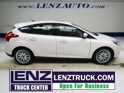 2012 Ford Focus for sale at LENZ TRUCK CENTER in Fond Du Lac WI