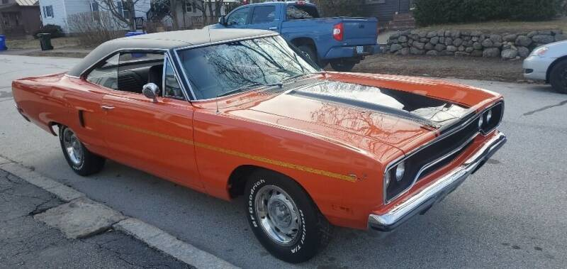 1970 Plymouth Roadrunner for sale at Carroll Street Auto in Manchester NH