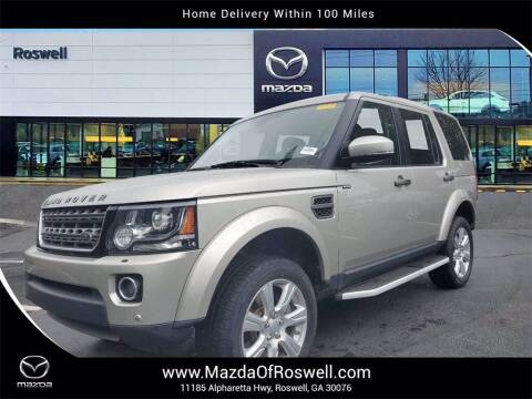 2016 Land Rover LR4 for sale at Mazda Of Roswell in Roswell GA