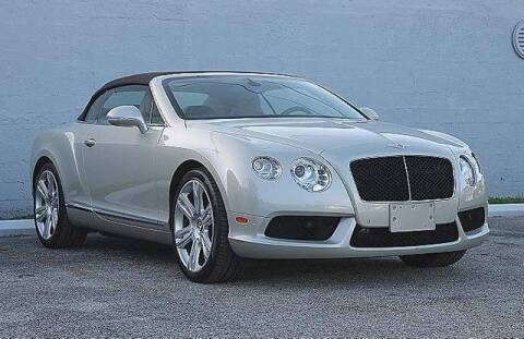 2013 Bentley Continental for sale at No 1 Auto Sales in Hollywood FL