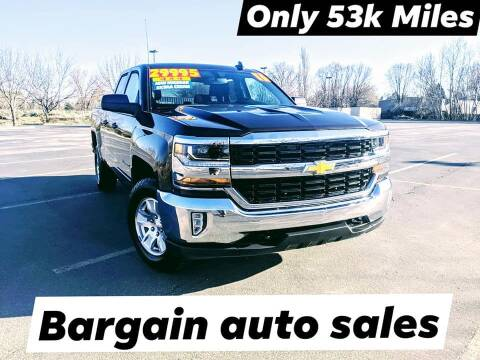 2016 Chevrolet Silverado 1500 for sale at Bargain Auto Sales LLC in Garden City ID