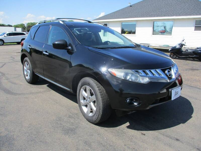 2010 Nissan Murano for sale at KAISER AUTO SALES in Spencer WI