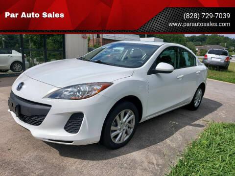 2012 Mazda MAZDA3 for sale at Par Auto Sales in Lenoir NC