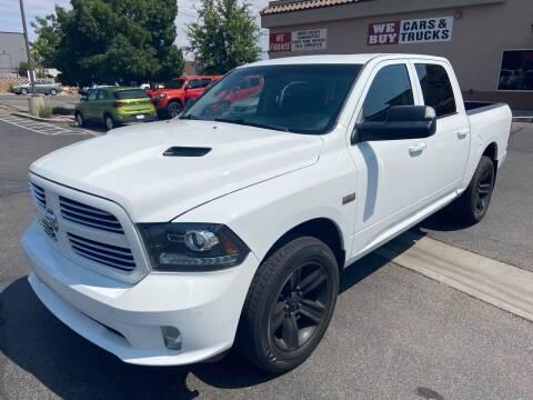 2014 RAM Ram Pickup 1500 for sale at Boulevard Motors in Saint George UT