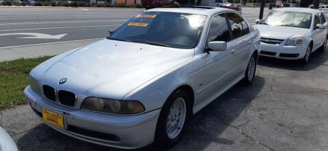 2002 BMW 5 Series for sale at Easy Credit Auto Sales in Cocoa FL