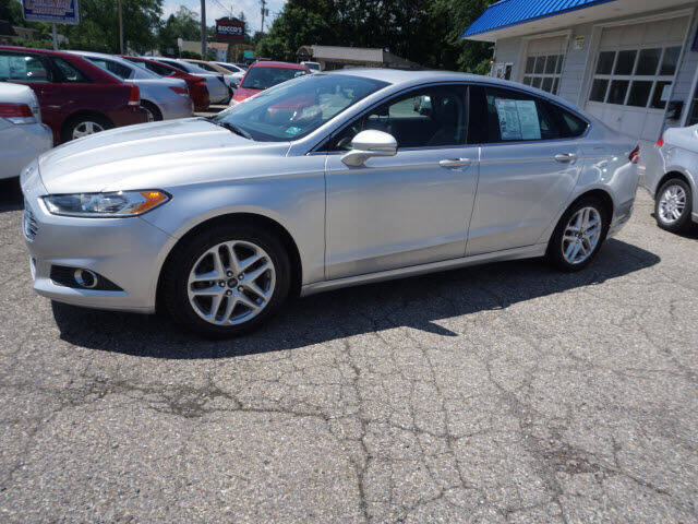2013 Ford Fusion for sale at Colonial Motors in Mine Hill NJ