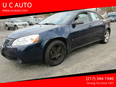 2008 Pontiac G6 for sale at U C AUTO in Urbana IL