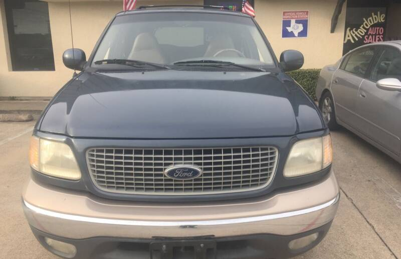 1999 Ford Expedition for sale at Affordable Auto Sales in Dallas TX