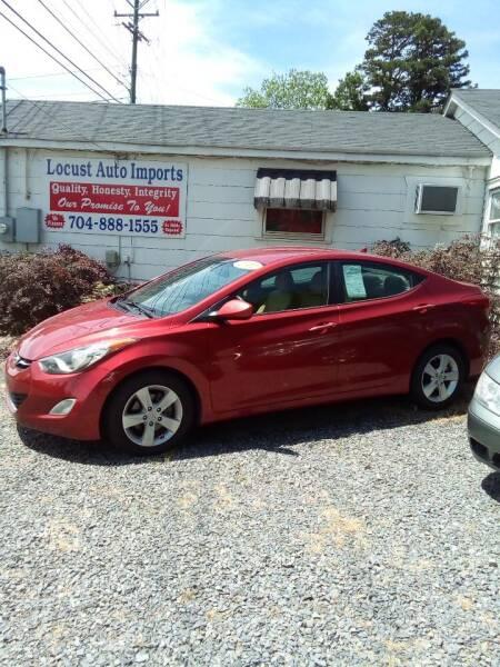 2012 Hyundai Elantra for sale at Locust Auto Imports in Locust NC