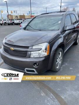 2008 Chevrolet Equinox for sale at COYLE GM - COYLE NISSAN in Clarksville IN