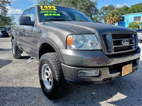 2004 Ford F-150 for sale at AFFORDABLE AUTO SALES OF STUART in Stuart FL