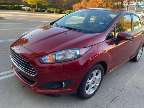2015 Ford Fiesta for sale at Ted's Auto Corporation in Richardson TX