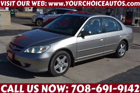 2004 Honda Civic for sale at Your Choice Autos - Crestwood in Crestwood IL
