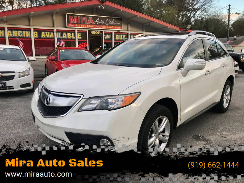 2013 Acura RDX for sale at Mira Auto Sales in Raleigh NC