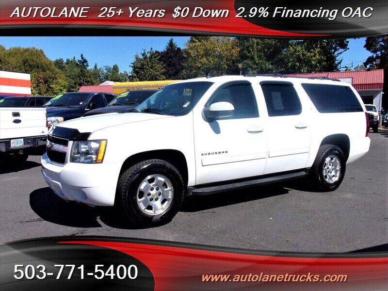 2012 Chevrolet Suburban for sale at Auto Lane in Portland OR