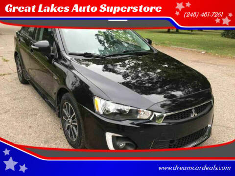 2017 Mitsubishi Lancer for sale at Great Lakes Auto Superstore in Pontiac MI
