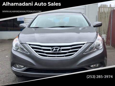 2013 Hyundai Sonata for sale at ALHAMADANI AUTO SALES in Spanaway WA